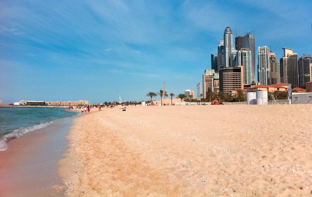 Бесплатные пляжи в Дубае