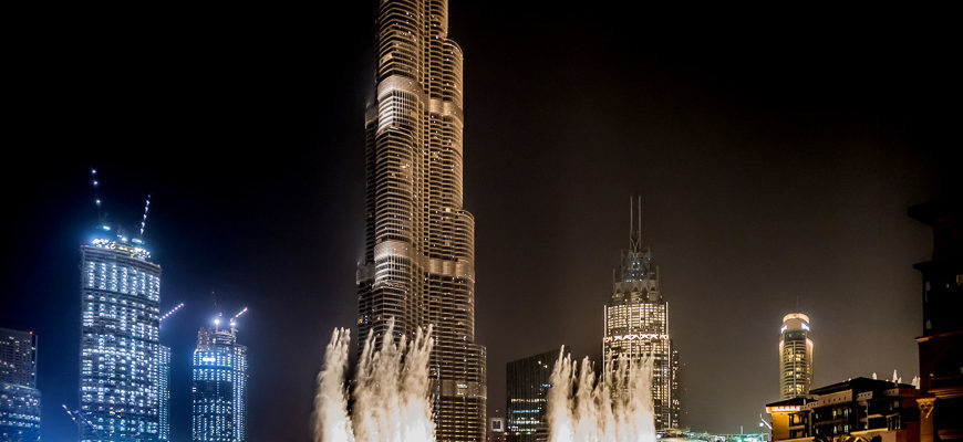 Бурдж Халифа в Дубае - самое высокое здание в мире