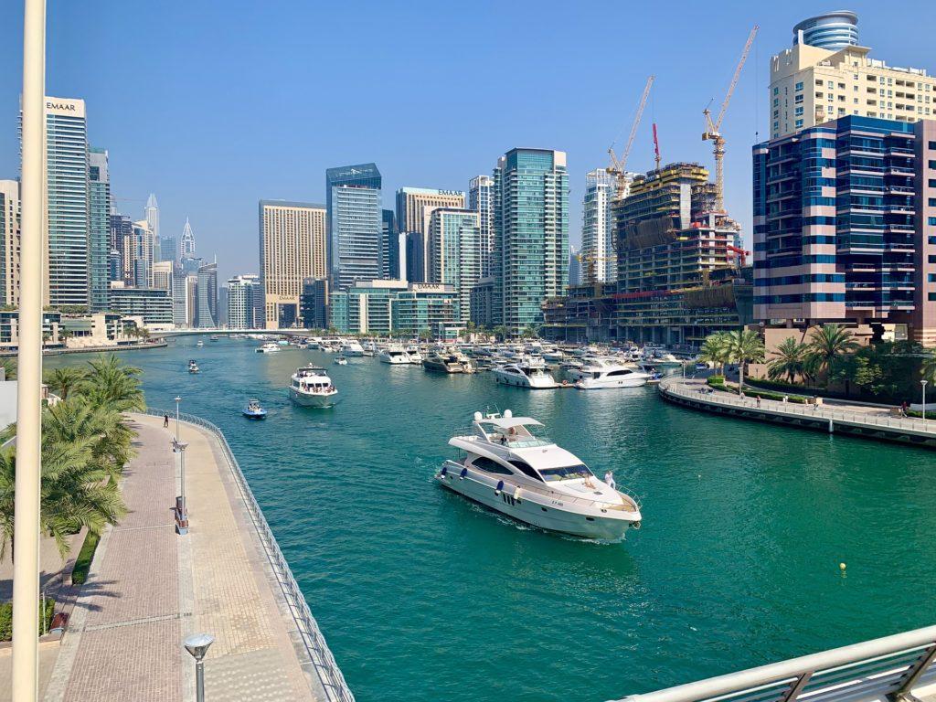 Экскурсия морская прогулка в Дубае